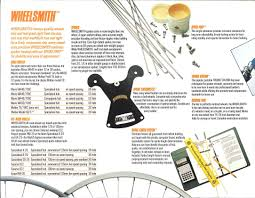1987 specialized components catalouge cont retrobike