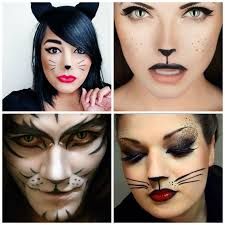 easy halloween face makeup 17 extraordinary and easy halloween