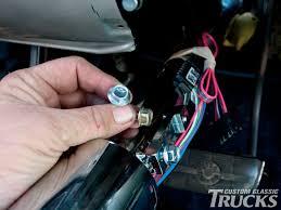 1973 1978 chevy c10 u0027s tilt steering column install rod network