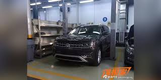 volkswagen atlas 7 seater 2017 volkswagen atlas production crossblue suv to debut end of