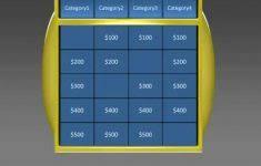 jeopardy game template blank jeopardy powerpoint template jpg