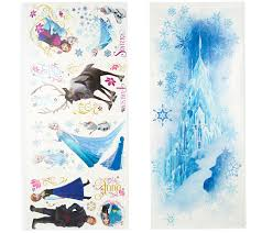 disney s frozen reusable peel stick wall decal combo set page disney s frozen reusable peel stick wall decal combo set page 1 qvc com