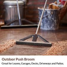 Patio Broom by Amazon Com Bigwisp Lightweight Push Broom Best Outdoor Broom For