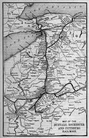 Map Of Buffalo New York by The Buffalo Rochester And Pittsburgh Railway