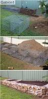 gabion deco jardin 736 best gabion images on pinterest gabion wall walls and