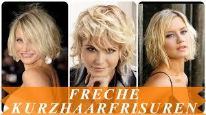 Freche Kurzhaarfrisuren Damen Bilder by Schicke Freche Kurzhaarfrisuren Für Frauen