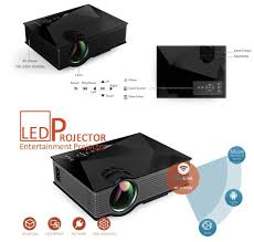 amazon com unic uc46 1200 lumens portable multimedia hd mini led