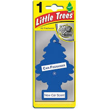 air freshener new car smell trees car air freshener new car scent 1 ea walmart