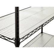 Commercial Wire Shelving by Hyper Tough 4 Shelf Commercial Grade Wire Shelving System With