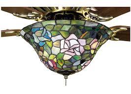 Ceiling Fans With Tiffany Style Lights Meyda Tiffany 12