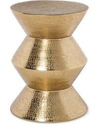 Metal Drum Accent Table Cyber Monday Savings Are Here 15 Off Gold Drum Accent Table