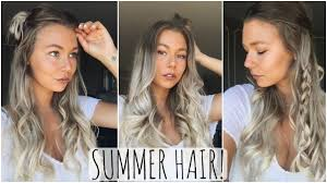 Hairstyles Easy And Quick by Quick U0026 Easy Summer Hairstyles Youtube
