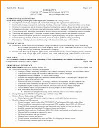 executive summary resume exles executive summary resume sles fresh 6 executive summary exle