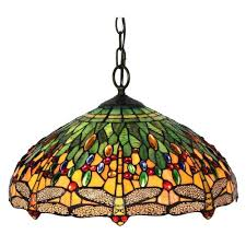 tiffany glass pendant lights multicolored pendant lights lighting the home depot