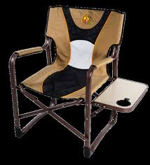 camping chairs with side tray folding lawn chair attached table