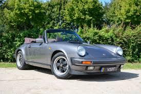 grey porsche 911 convertible porsche 911 3 2 carrera cabriolet 1986 meteor grey porsche