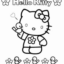 free printable kitty coloring pages kids print