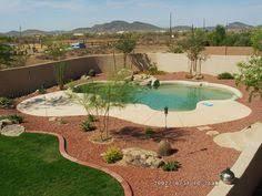 Backyard Pool Landscape Ideas Desert Landscape Ideas With Pool Landscape Ideas