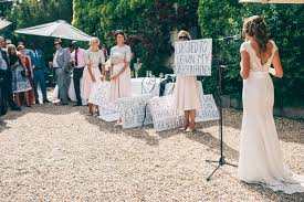 outdoor french wedding by marry me in france with limor rosen gown