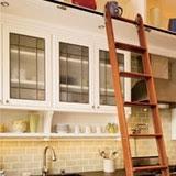 Sliding Bookshelf Ladder Sliding Library Ladders In The Kitchen Kitchn