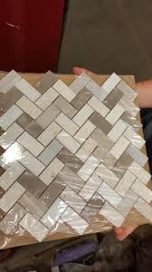 lowes kitchen backsplash tile 34 kitchen backsplash tile ideas herringbone backsplash
