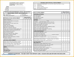 homeschool middle school report card template homeschool middle school report card template new kindergarten