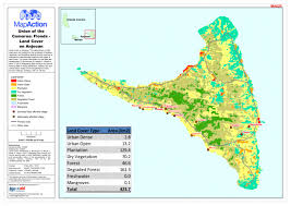 map comoros union of the comoros floods land cover on anjouan as of 9 may