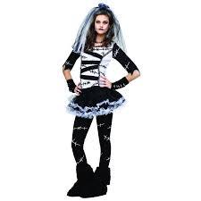 Bride Halloween Costume Monster Bride Teen Halloween Costume Size Walmart