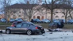 accident involving stolen car in winnetka