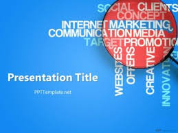 free marketing ppt template for social media powerpoint