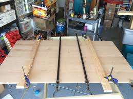 table top glue up i built a table