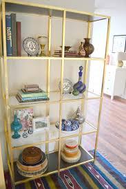 How Do You Pronounce Etagere Honey Sweet Home Diy Brass Etagere U2013 Gold Leafed Ikea Vittsjo Hack