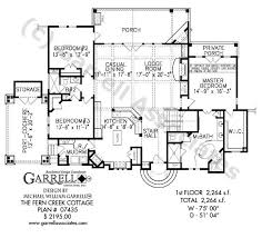 cottage floorplans fern creek cottage house plan house plans by garrell associates