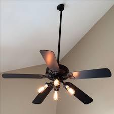 Bedroom Fan Light Ceiling Fan With Edison Lights Regarding Property Way Trend Light