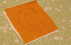 How To Make A Rug Out Of Fabric Make Your Own Fabric Alphabet Free Template
