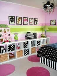 wandgestaltung mädchenzimmer kinderzimmer streichen 20 bunte dekoideen