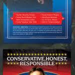 political newsletter template beautiful political flyer template