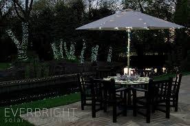 solar umbrella clip lights umbrella lights solar 4 pk of solar patio umbrella clip lights