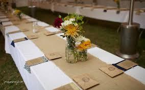Long Table Centerpieces Wedding Loveinamasonjar