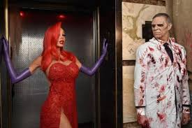 Halloween Costume Jessica Rabbit Heidi Klum Jessica Rabbit Halloween Costume Male