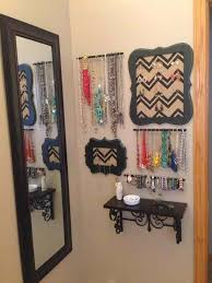 Creative Ways To Organize Your Bedroom 30 Creative Jewelry Storage U0026 Display Ideas Small Shelves