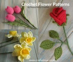 Free Pattern For Crochet Flower - free crochet flower patterns crochet now