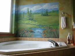 bathroom mural ideas inspiring image of 9459 small bathroom wall murals decorating