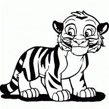 coloring page tigers baby tiger coloring pages tiger coloring page ideas alabiasa info