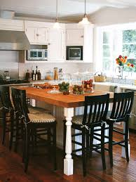 kitchen island table with 4 chairs need as many seats as possible around the butcher block with 3