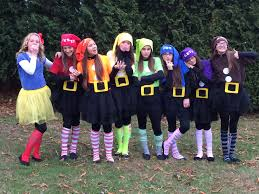 diy group girls costume 7 dwarfs diy so easy my style