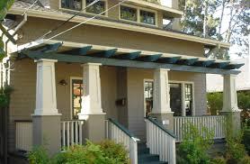 tapered porch columns plans house back porch pergola pinterest