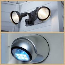 Outdoor Motion Sensor Wall Lights Lighting And Ceiling Fans