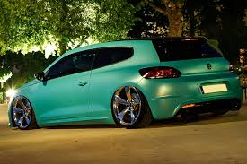 slammed volkswagen gti slammed vw scirocco r with 370ps is as minty fresh as they come
