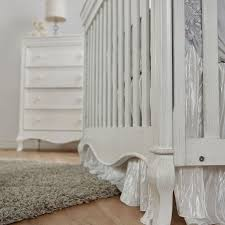 Pali Toddler Rail Pali Diamante Collection Forever Crib In Vintage White